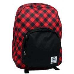 ZAINO INVICTA - OLLIE PACK FANTASY NEW - Red Plaid americano 25 LT