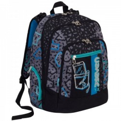 Seven Zaino Scuola Advanced Shift - Nero 30 LT