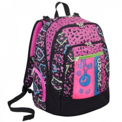 Seven Zaino Scuola Advanced Shift - Rosa 30lt