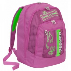 Seven Zaino Scuola Advanced Colorful Girl - Rosa
