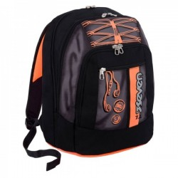 Seven Zaino Scuola Advanced Colorful Boy - nero