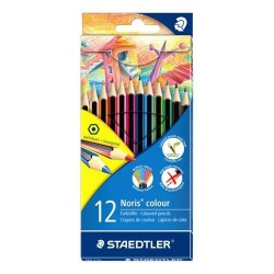 Matite colorate Noris colors Staedtler - 185C12 - conf. 12