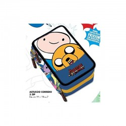 Astuccio 3 Zip Adventure Time