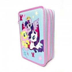 ASTUCCIO 3 ZIP MY LITTLE PONY ROSA