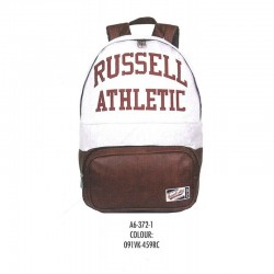 ZAINO RUSSELL ATHLETIC GRIGIO FONDO IN SIMILPELLE BACKPACK